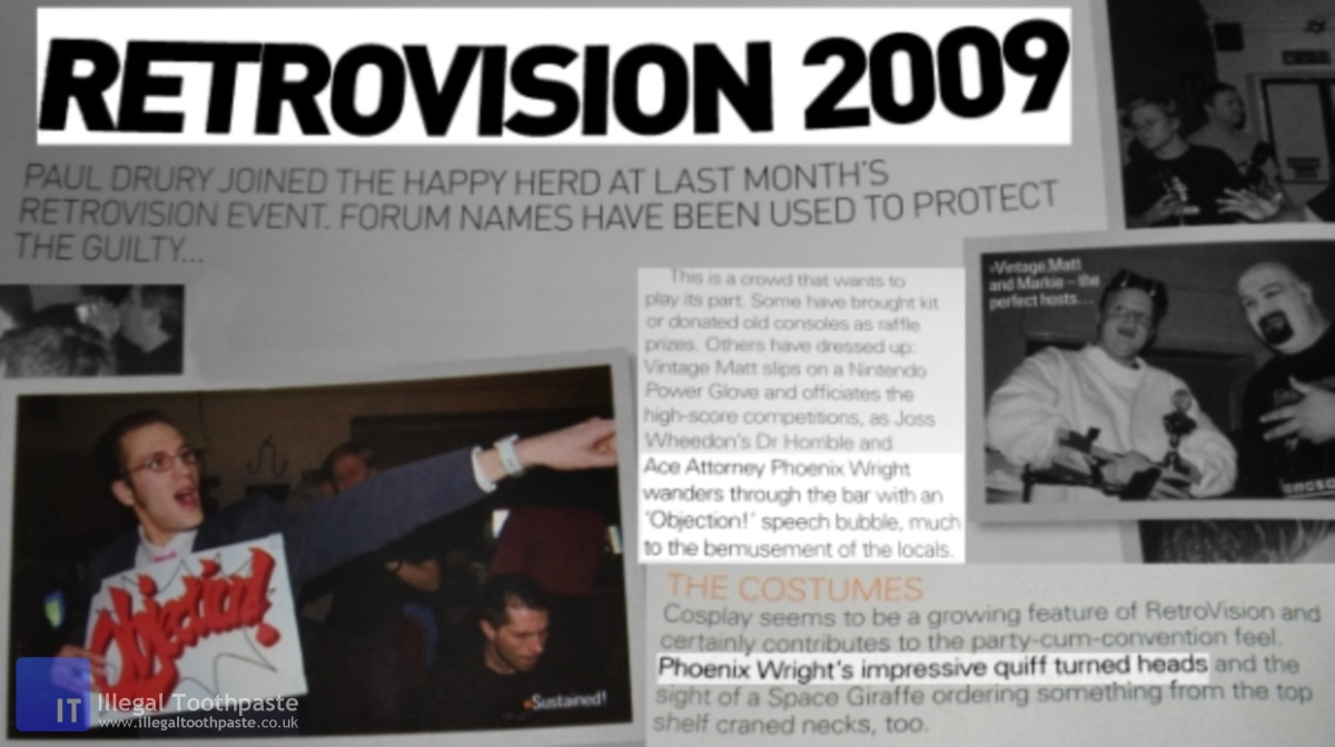 Retrovision 2009 Phoenix Wright