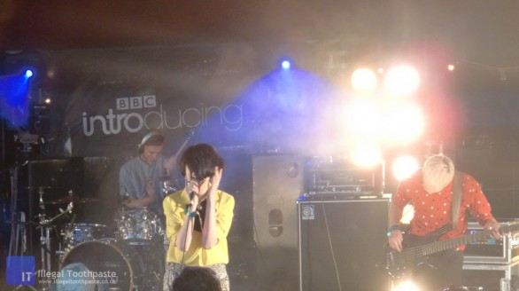 The Good Natured on the BBC Introducing Stage