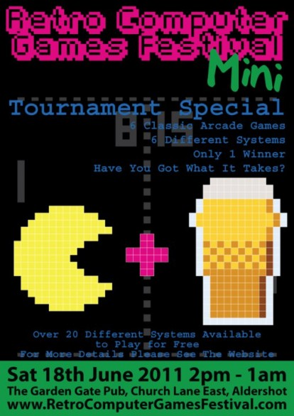 Retro Computer Games Festival Mini - Tournament Special Poster