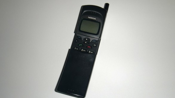 Nokia 8110 Half Open