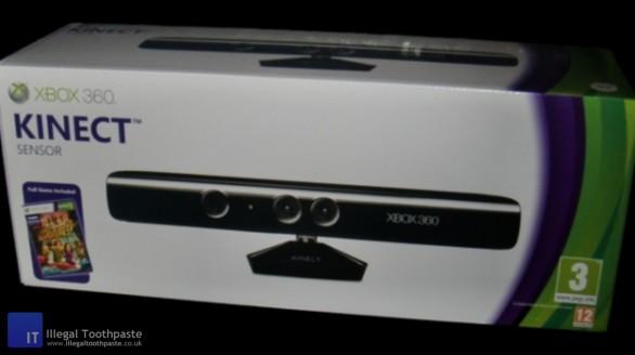 Microsoft Xbox 360 Kinect Box